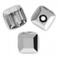 Cubo Swarovski 5601 4 mm Crystal Light Chrome x8