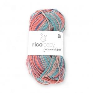 ea4bad1d77c2c Lana Rico Baby Cotton Soft Print dk - Rico Design - Rojo Azul 023 x ...