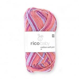 72442e9ebf3cc Lana Rico Baby Cotton Soft Print dk - Rico Design - Rojo Lilac 022 x ...