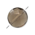 Smoky Quartz facetado disco 6 mm x1