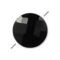 Onyx Negro facetado disco 6 mm x1