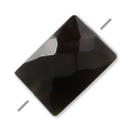 Onyx Negro facetado rectangular 5x7 mm x1