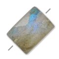 Labradorite facetado rectangular 5x7 mm x1