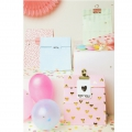 Bolsa de regalo de papel Yey - 120x210x60 mm - Let's party - Pastel x10