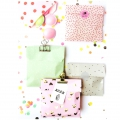 DIY Bolsa de regalo de papel Yey - 120x185 mm - Let's party - Pastel x20