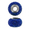 BeCharmed Pavé Swarovski 80101 14 mm Majestic Blue x1