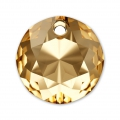 Colgante Swarovski 6430  14 mm Crystal Golden Shadow x1