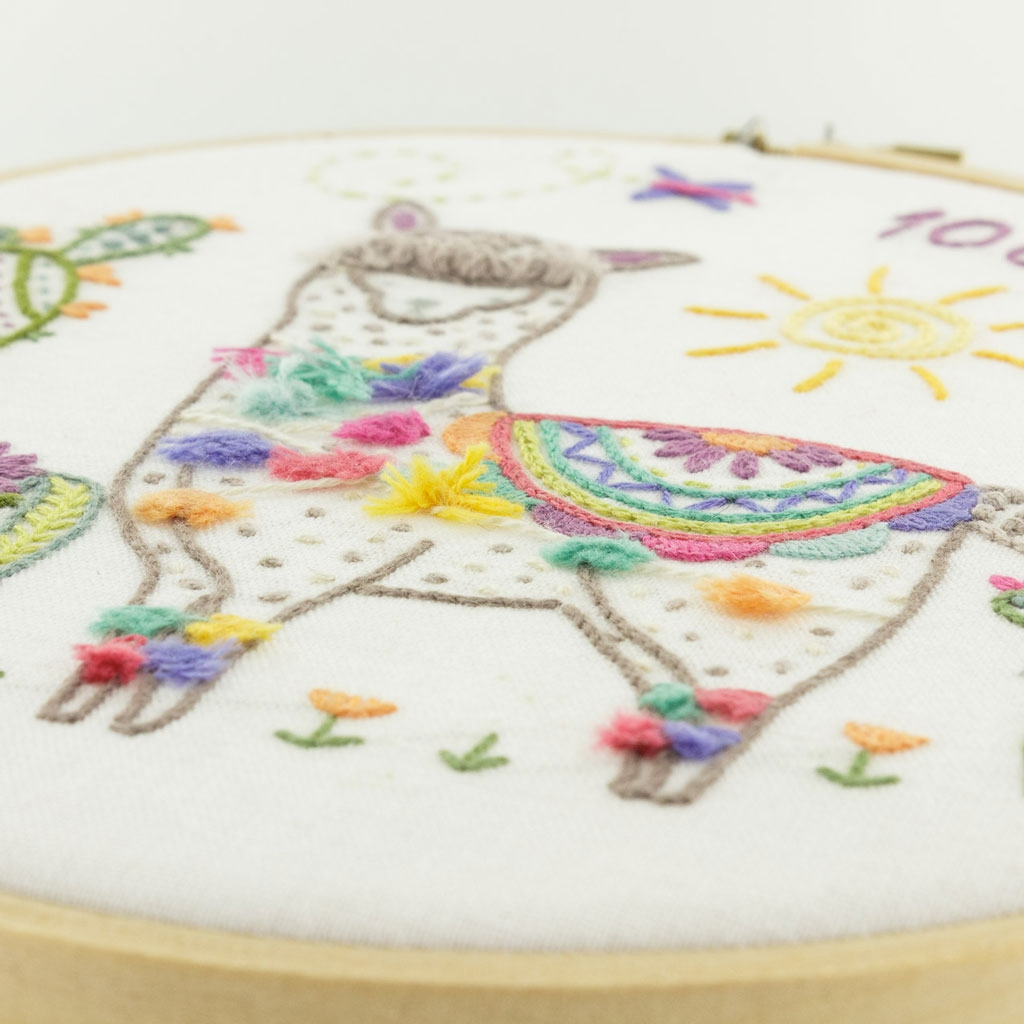 Kit bordado - Producto artesanale de Francia - Nikola el llama x1 ...