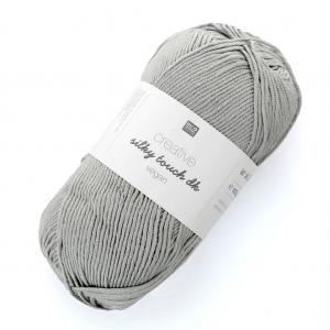 871ef4482293a Lana Creativ Silky Touch dk - Rico Design - Gris Plateado 008 x 100g ...