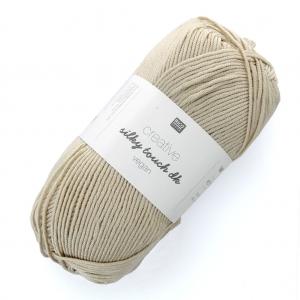 6861110a346dc Lana Creativ Silky Touch dk - Rico Design - Beige 002 x 100g ...