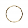 Anilla cerrada 20 mm de Gold filled 14 kilates x1