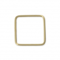Anilla cerrada cuadrada 10 mm Gold filled 14K x1