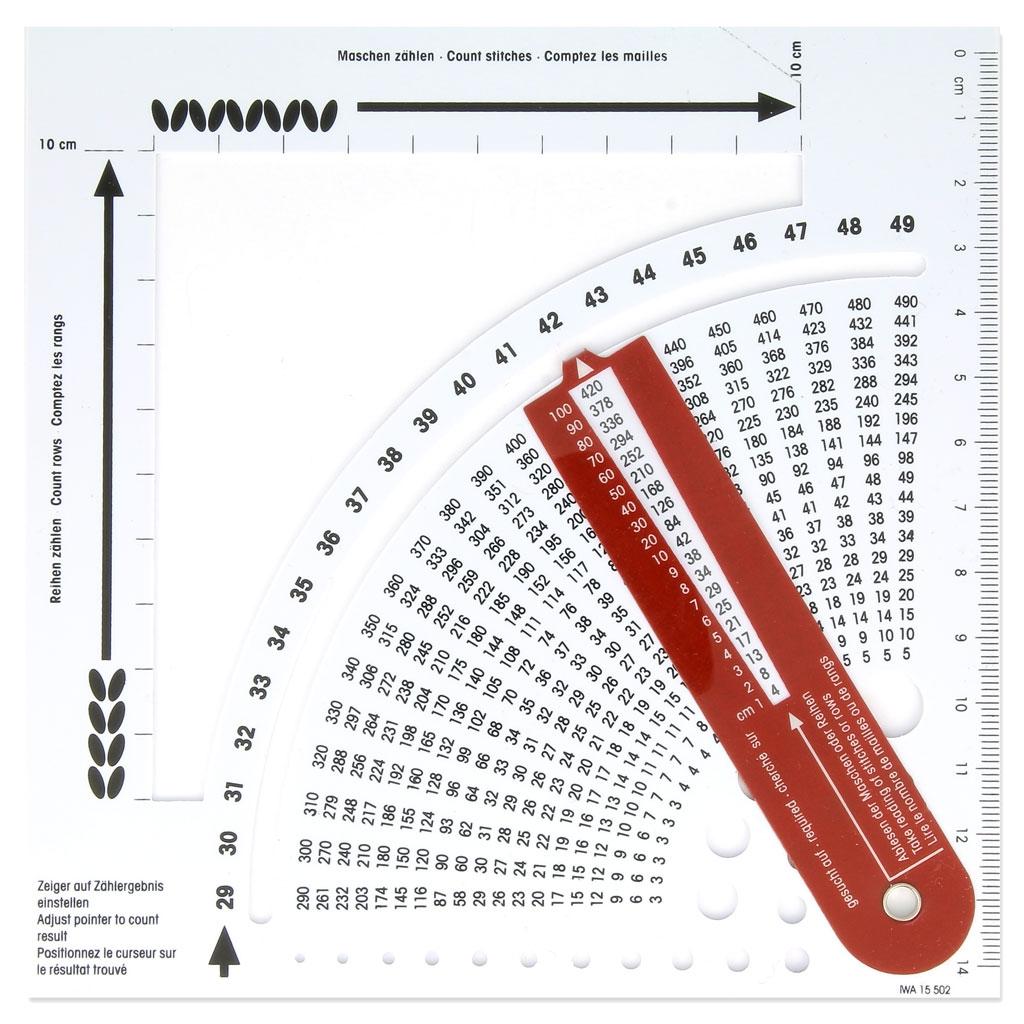 Calculador de tejido y bastidor - mallas y puntos Prym - Prym ...