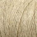 Bobina de hilo de lino 2 mm Natural x 400 gr