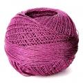 Hilo de poliéster Liz Metallic talla 20 Raspberry Pink n°316 x146m