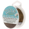 Hilo de cobre Craft Wire flexible 0.32 mm Vintage bronze x 36 m