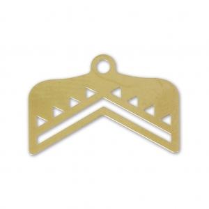 60be6874c Terminal para tejido de cuentas Miyuki 11/0 Perles & co 18 mm dorado ...