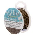 Hilo de cobre Craft Wire flexible 0.64 mm Vintage bronce x 13.5 m