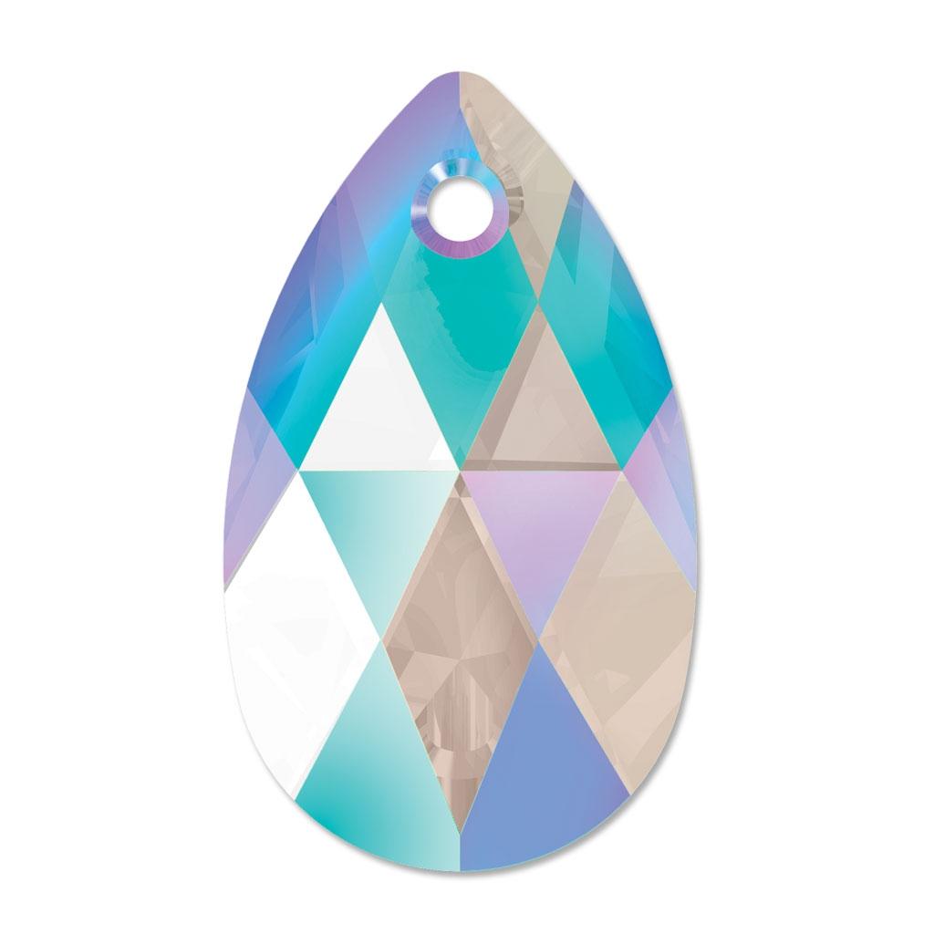 Lágrima Swarovski 6106 16 mm Crystal Shimmer x1 - SWAROVSKI - Perles ...