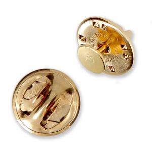 Base para pin para hacer creaciones como broches y decoraciones de 6 mm dorado x1
