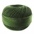 Hilo de algodón Lizbeth talla 80 Dark Leaf Green n°676 x168m
