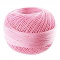 Hilo de algodón Lizbeth talla 80 Pink Med n°622 x168m