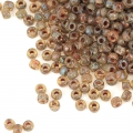 Rocailles Matubo 11/0 - 2.10 mm Crystal Picasso x10g