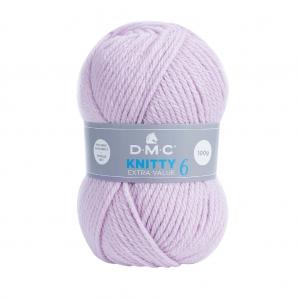 bc0b0cf661a49 DMC Lana Knitty 6 - Lilac (n°719) x 137m - Perles   Co