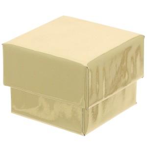 f5092a7743b1 Estuche y caja para joyería y bisutería para anillo 4.5x4.5x3.5 cm Dorado x1