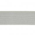 Cinta elástica fantasía ancha a rayas costura 40 mm Gris plateado x 1m 4cc7e2307f1b
