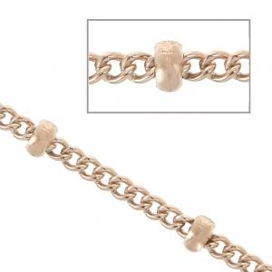 605df7845739 Gold Filled 14 carats. Cadena de bolas 1 mm ...