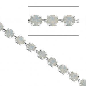 81682b8f85d5 Cadenas proporcionadas en trozo entero. Cadena con eslabones para joyería  de fantasía redondo 4 mm dorado ...
