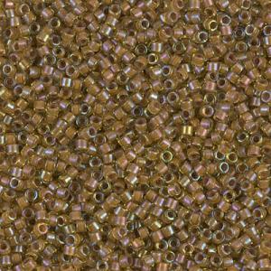 0f6359c69cb8 Miyuki Delicas 11/0 DB1738 - Cocoa Lined Chartreuse AB x8g