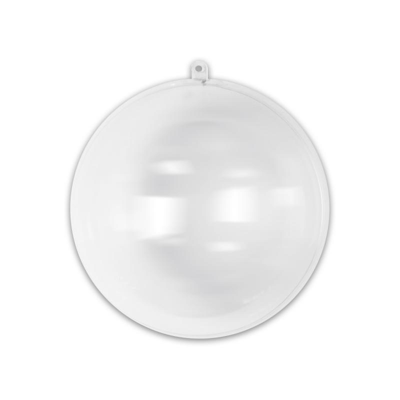 bola de navidad transparente para rellenar 70 mm x1