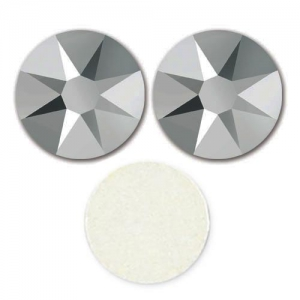 Strass para pegar Swarovski 4 mm Crystal Light Chrome x36