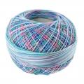 Hilo algodón Lizbeth talla 20 Summer Fun n°104 x192m