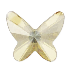 Mariposa Swarovski 2854 12 mm Crystal Golden Shadow x1