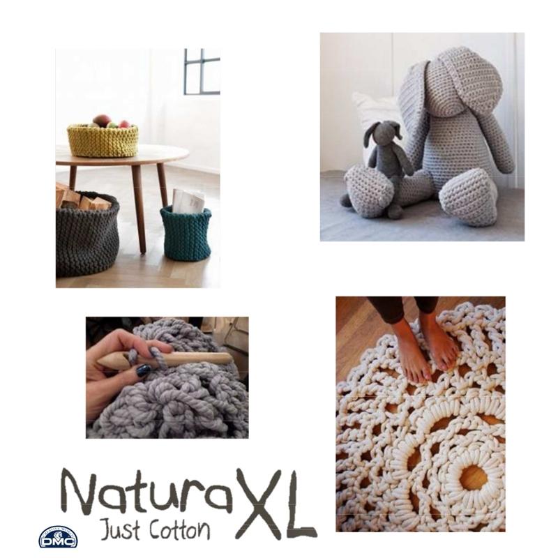 Algondón Natural XL DMC - Madeja de algodón Arena (n°85) x 75m ...