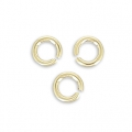 Anillas abiertas 2.5x0.5 mm de Gold filled 14K x50