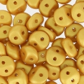ES-O® Beads 5 mm Golden Metallic Mat x5g