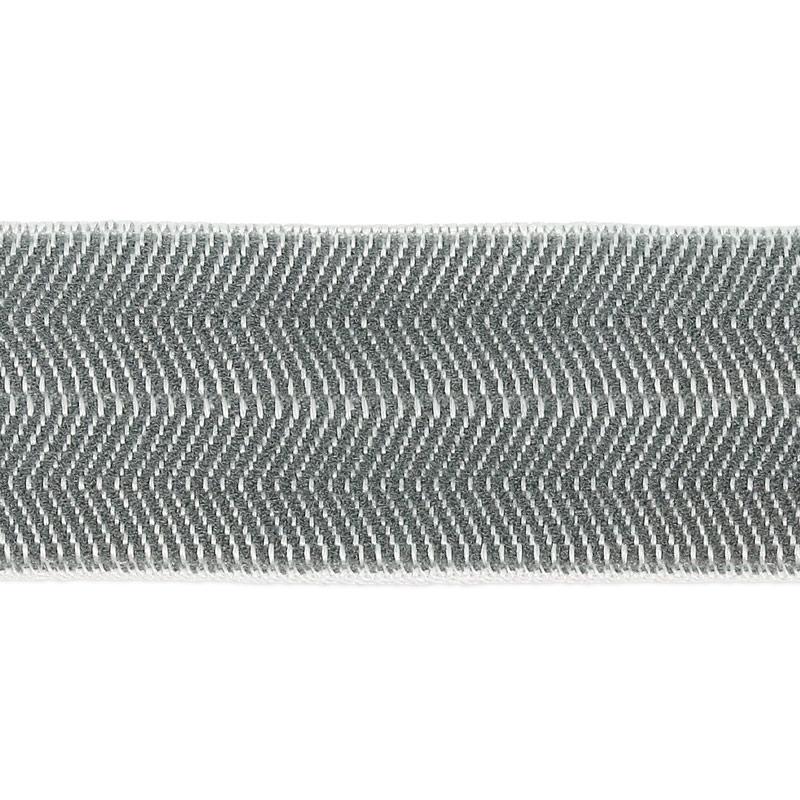 Cordón elástico 18 mm Gris x 1m - Perles   Co b264c4781eba