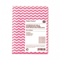 Paper Poetry Notebook chevrons 80x105 mm Rosa Fluo x1