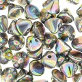 Button Bead 4 mm Crystal Vitrail Full x50