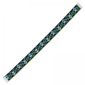 58e361d423fc Cinta tejida para pulsera Yujo 18 cm Negro Azul x1 - Perles   Co