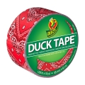 Adhesivo Duck Tape con motivos 48 mm Red Bandana x9m