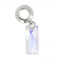 Queen Baguette Charms Swarovski 87007 13.5 mm Crystal AB x1