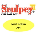 Pasta Sculpey III 57 gr Acid Yellow (n°534)
