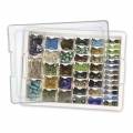 Assorted Bead Storage Tray - Bandeja y surtido de cajas