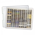 Tiny Container Bead Storage Tray - Bandeja y 78 mini-platos