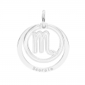 Colgante Escorpio - 18.5 mm  de Plata Sterling 925 x1